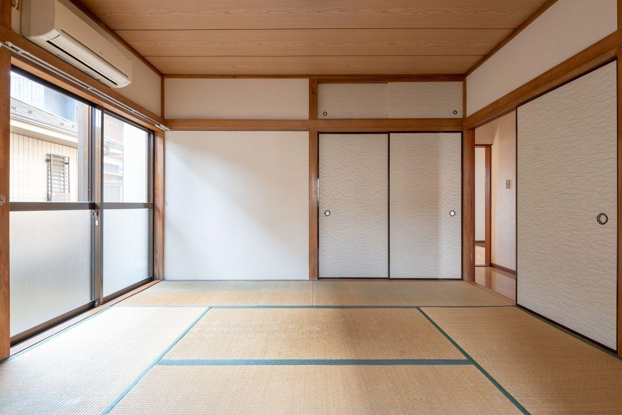 落ち着く雰囲気の和室