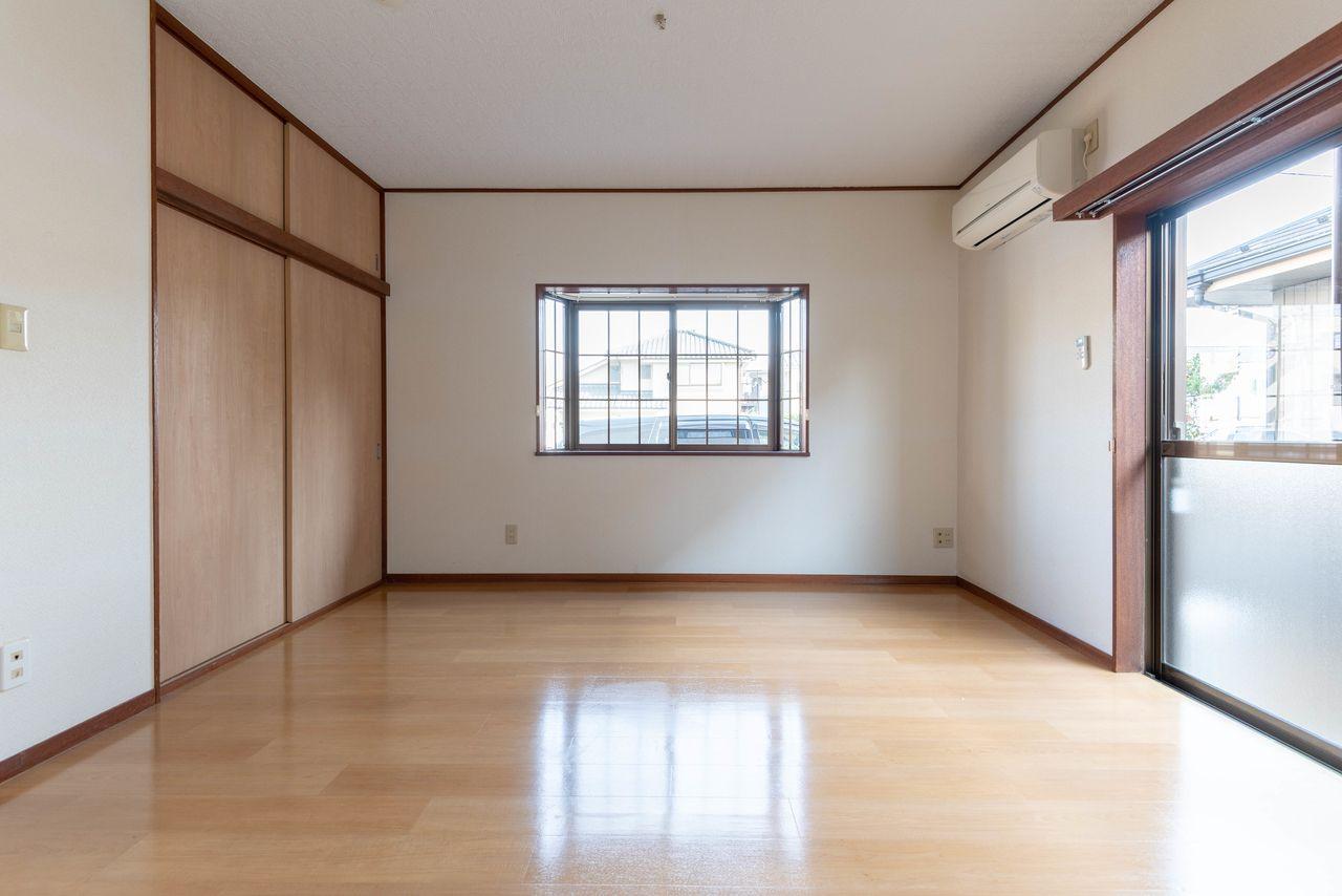 フローリングの床材でお掃除も簡単