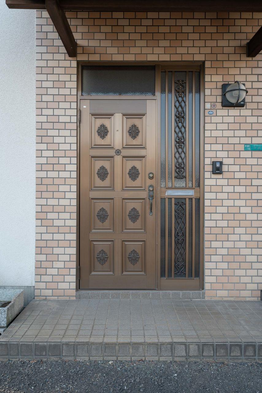戸建風の玄関扉