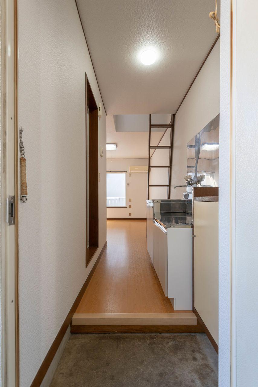 お部屋の入口となる玄関