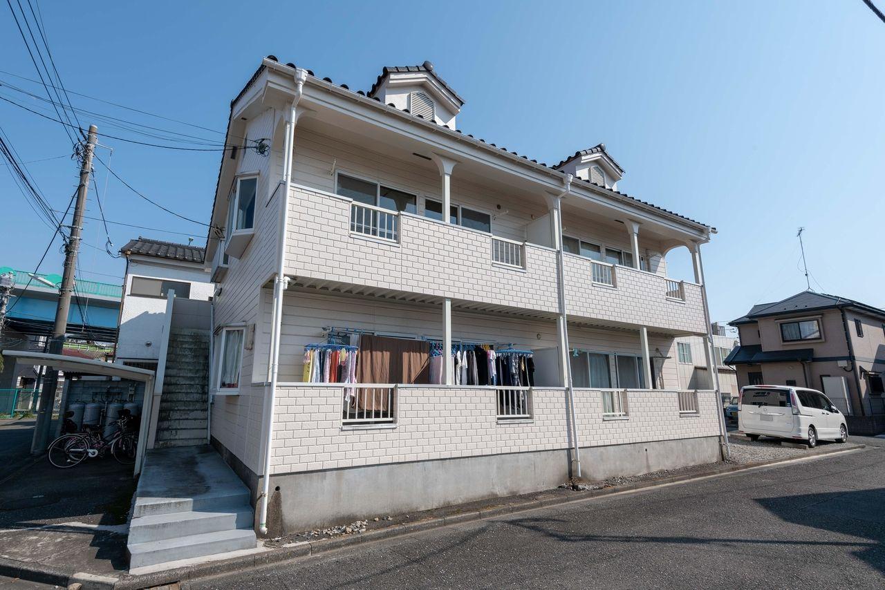 和田橋そばの賃貸アパート