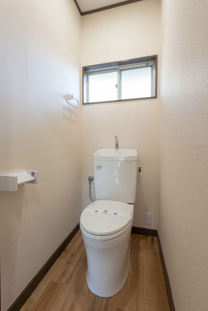 温水洗浄便座に対応できるコンセント付き