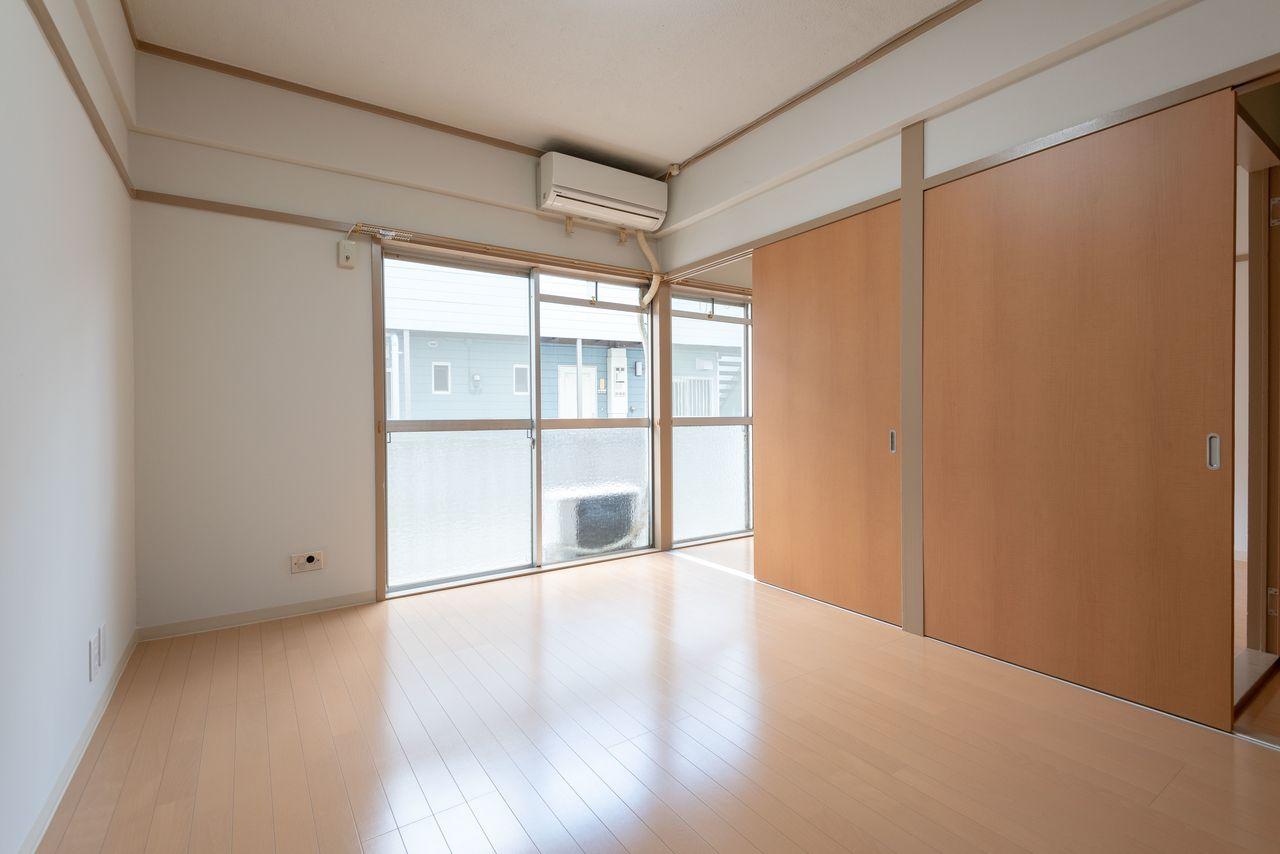 1階でもしっかりと採光できるお部屋