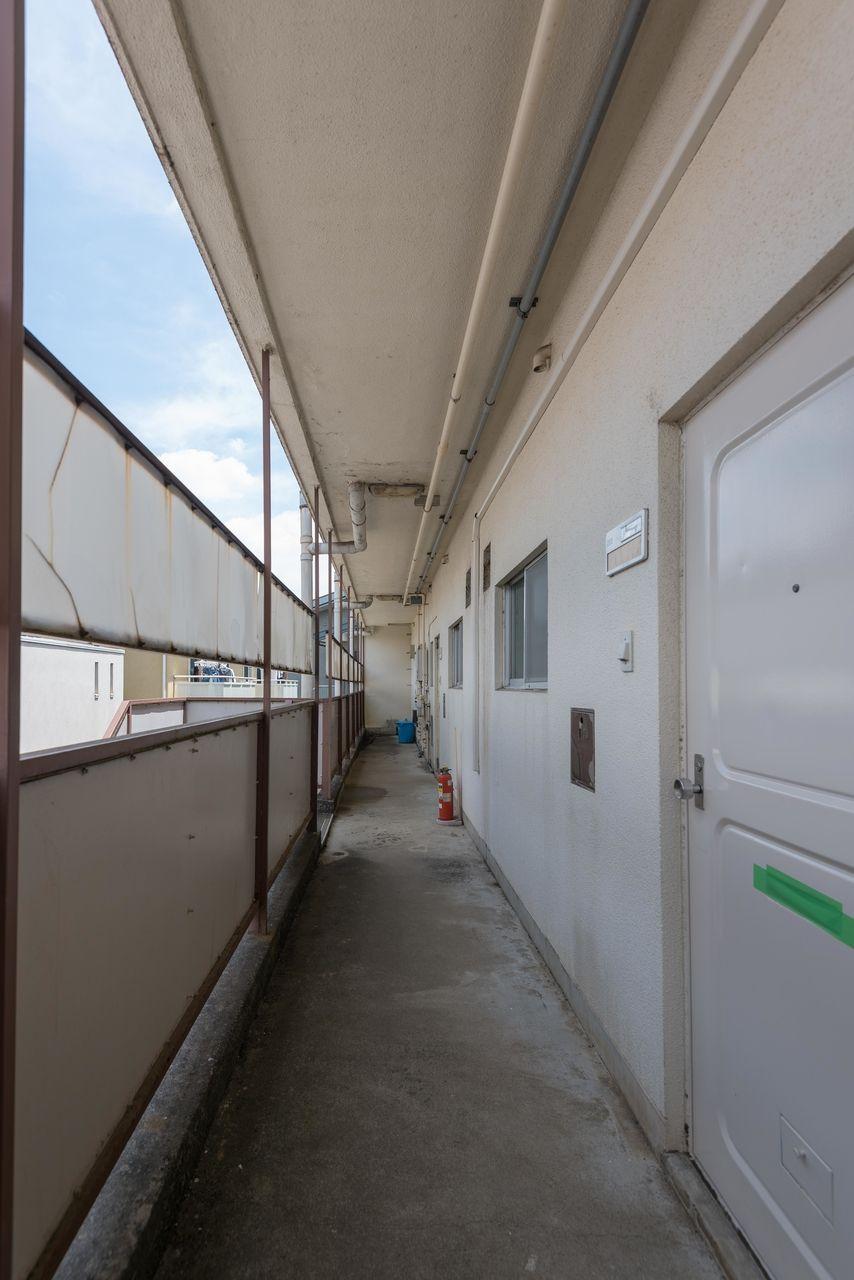 2階の共用廊下