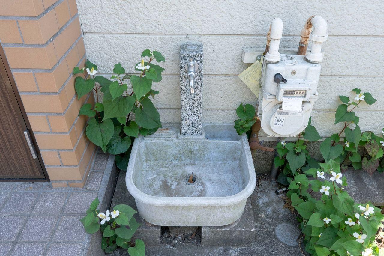 あると便利な外水栓