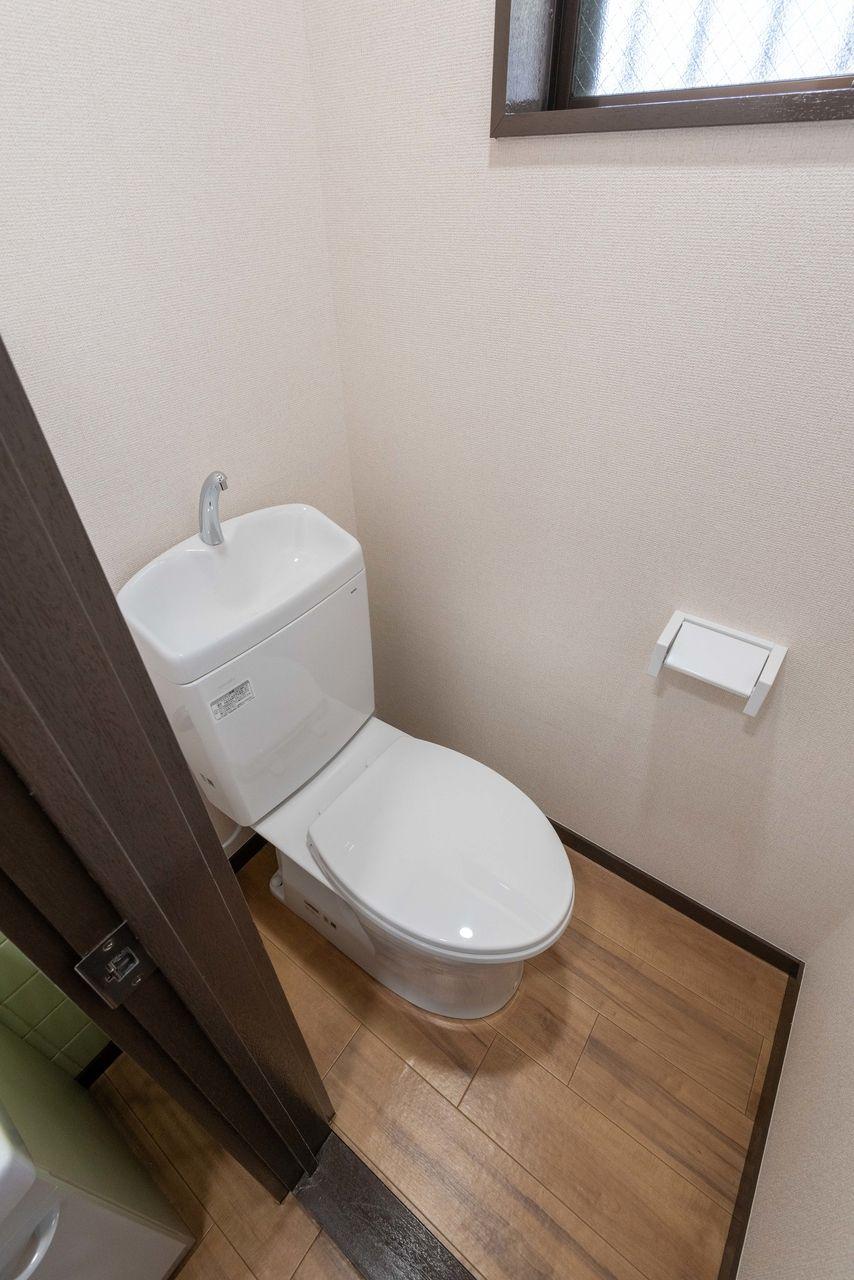 窓のある換気しやすいトイレ