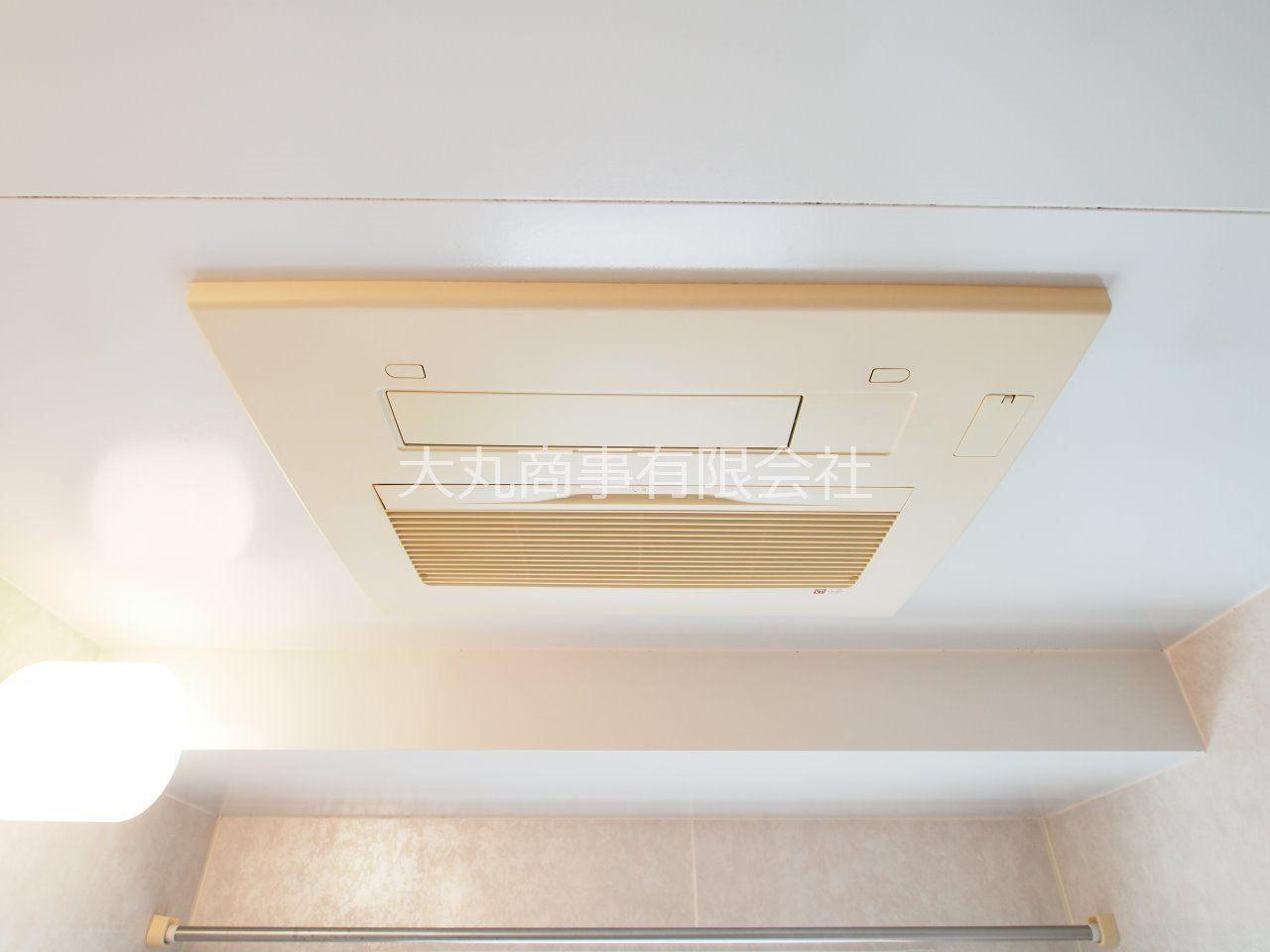 換気から暖房まで、便利な設備