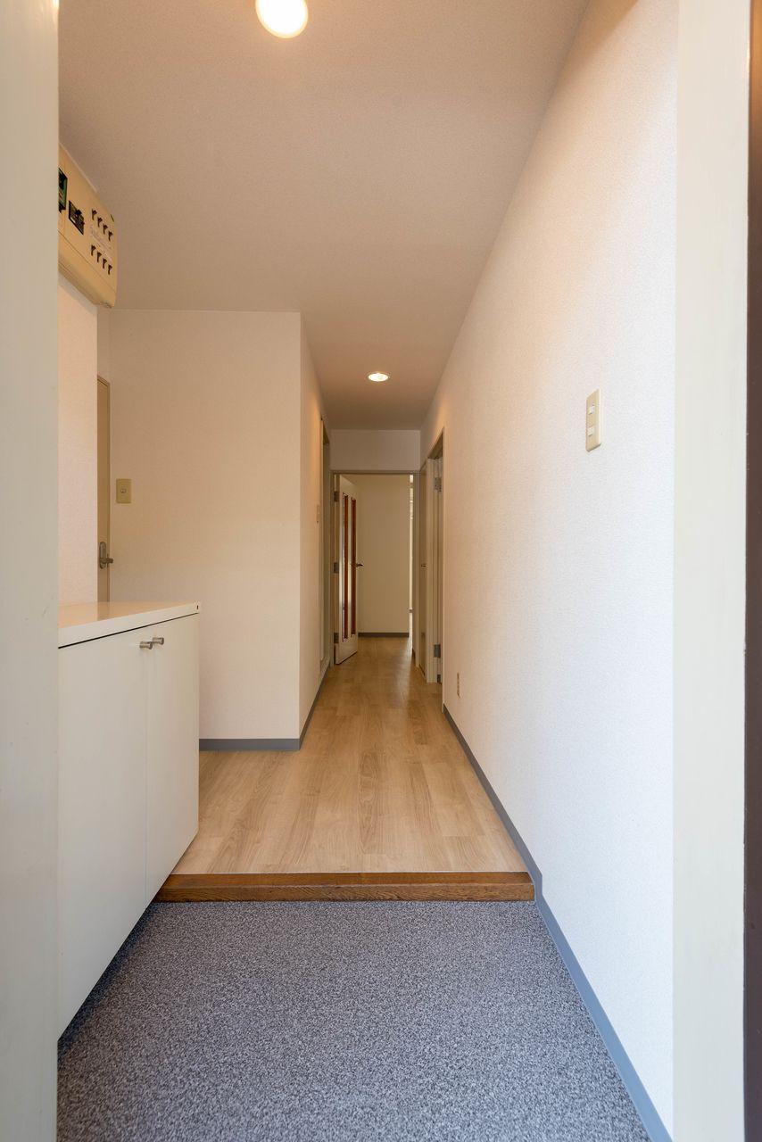 雰囲気のよい玄関