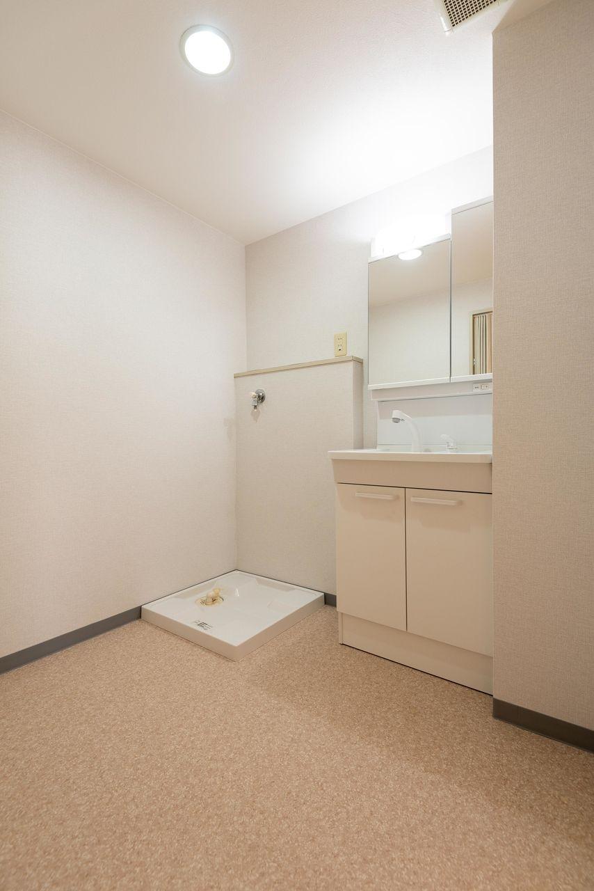 広さのある洗面所