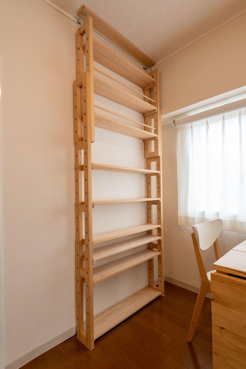 棚板は位置移動可能
