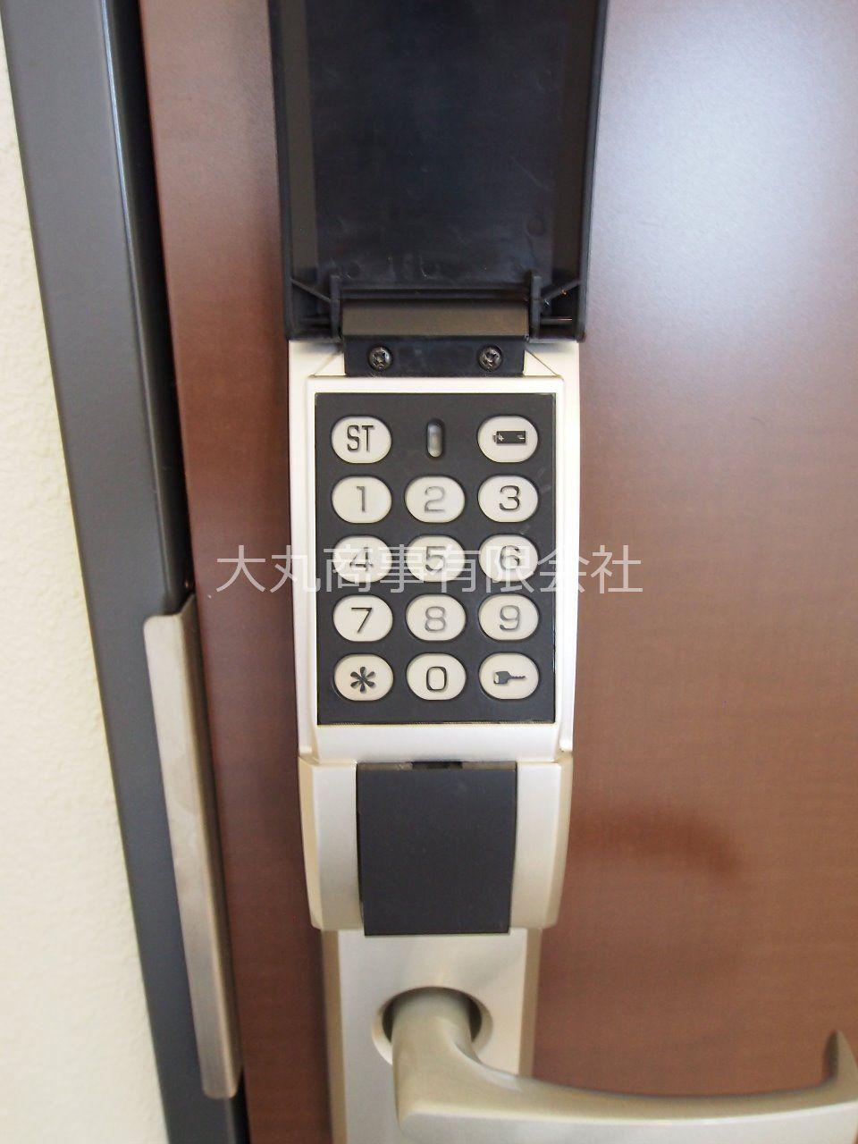 EDロックで自由に番号設定ができます