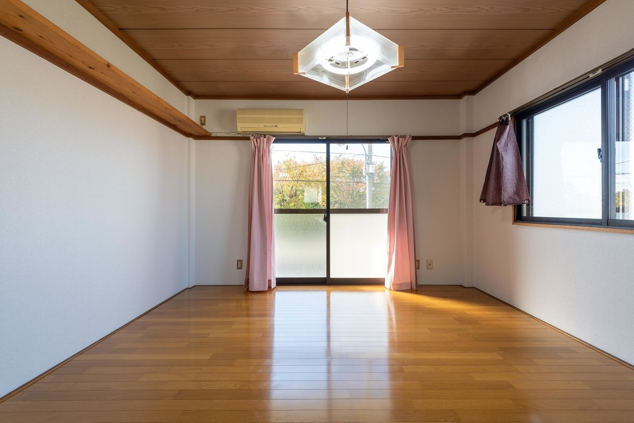 2面採光で明るいお部屋