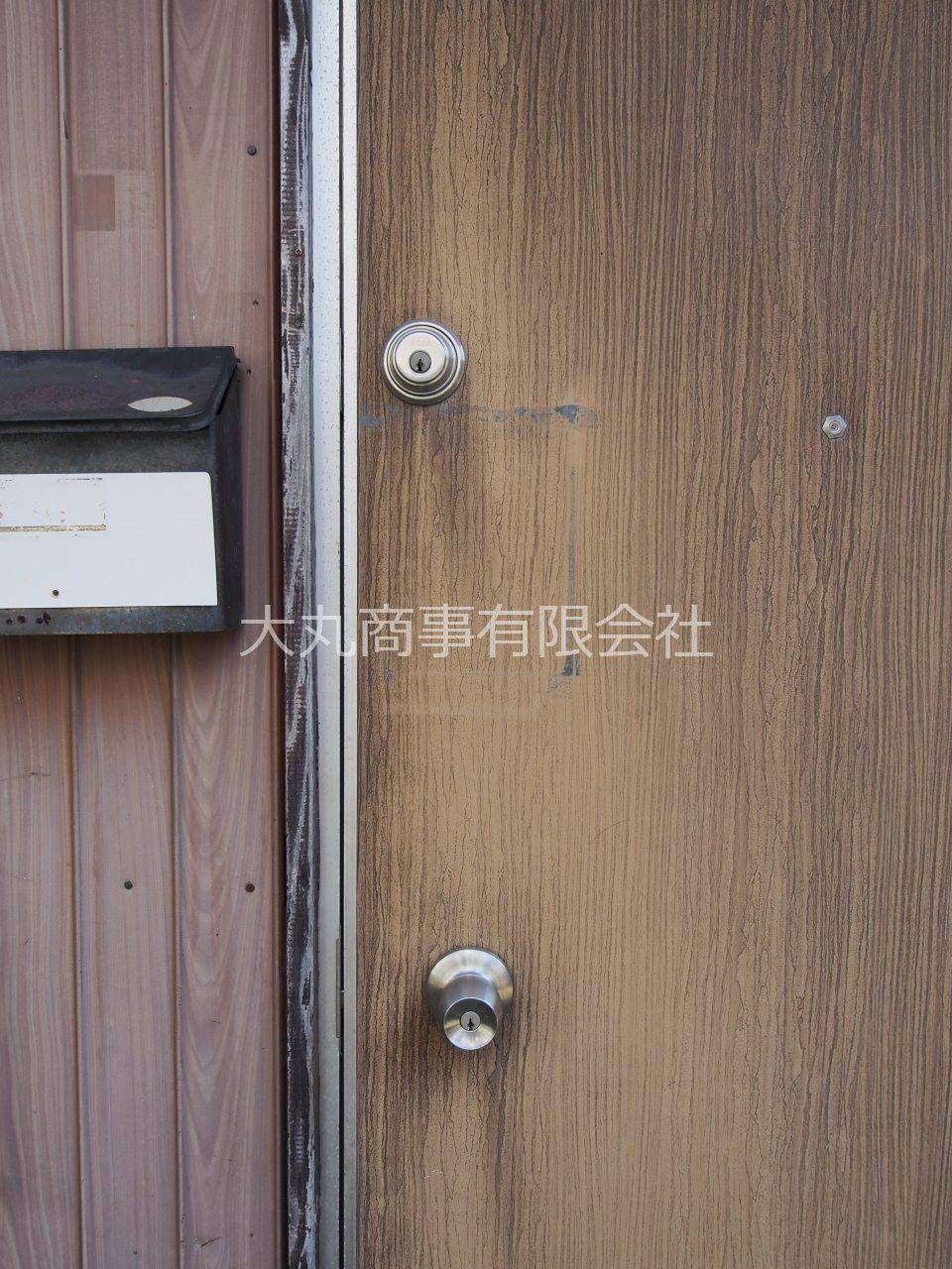 玄関はセキュリティー性の高いダブルロック