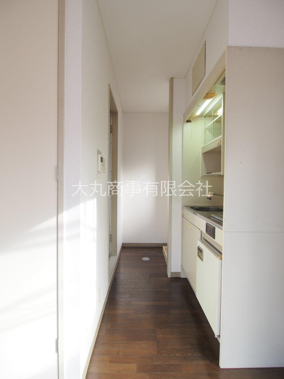 キッチン・浴室・洗濯機置場のある空間