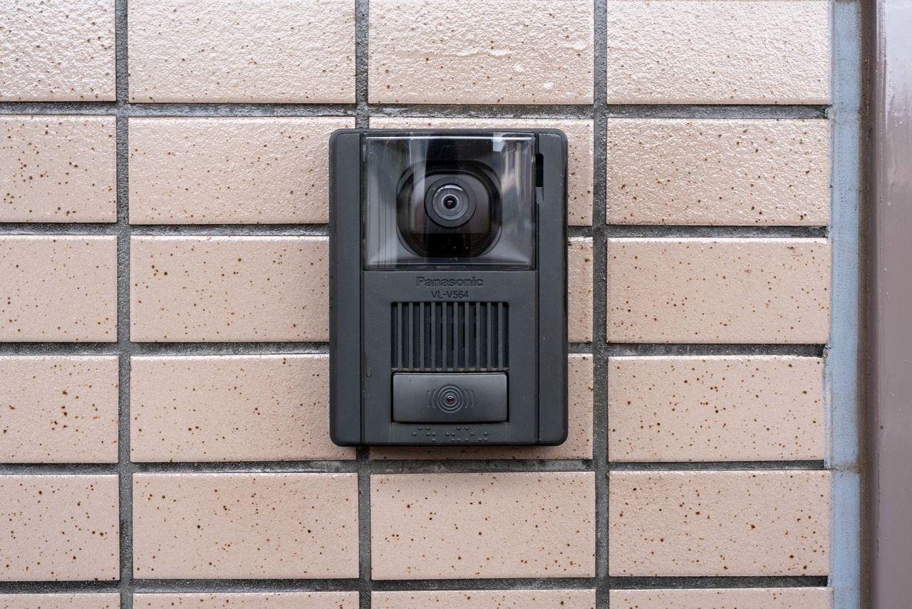 安心のカメラ付きチャイム