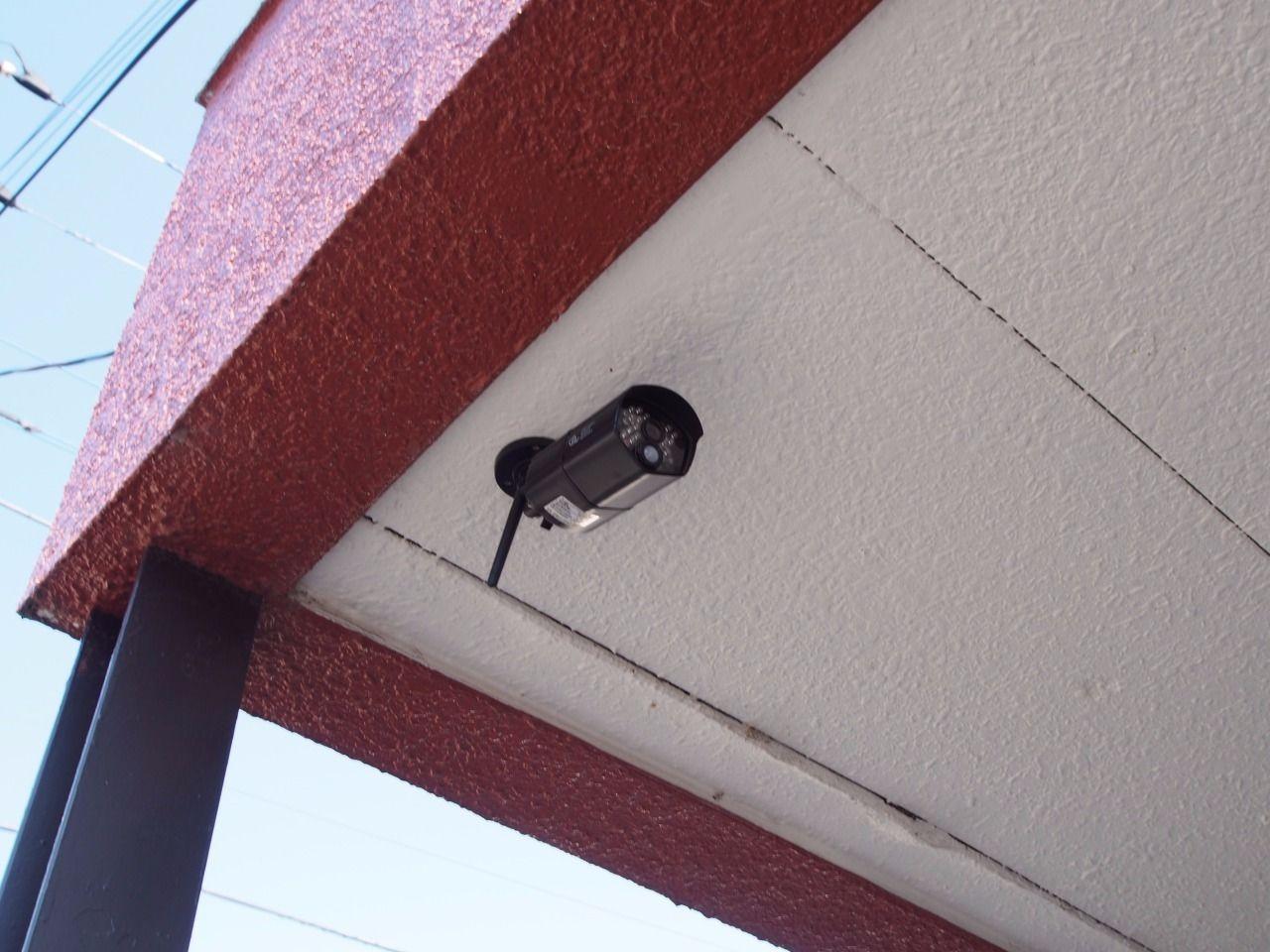 建物には防犯カメラの設置あり