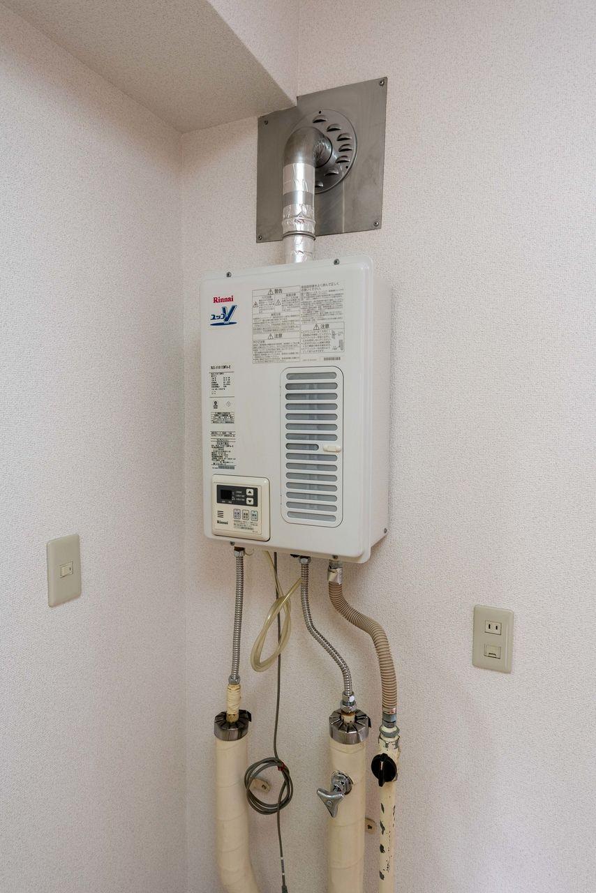 室内の給湯設備