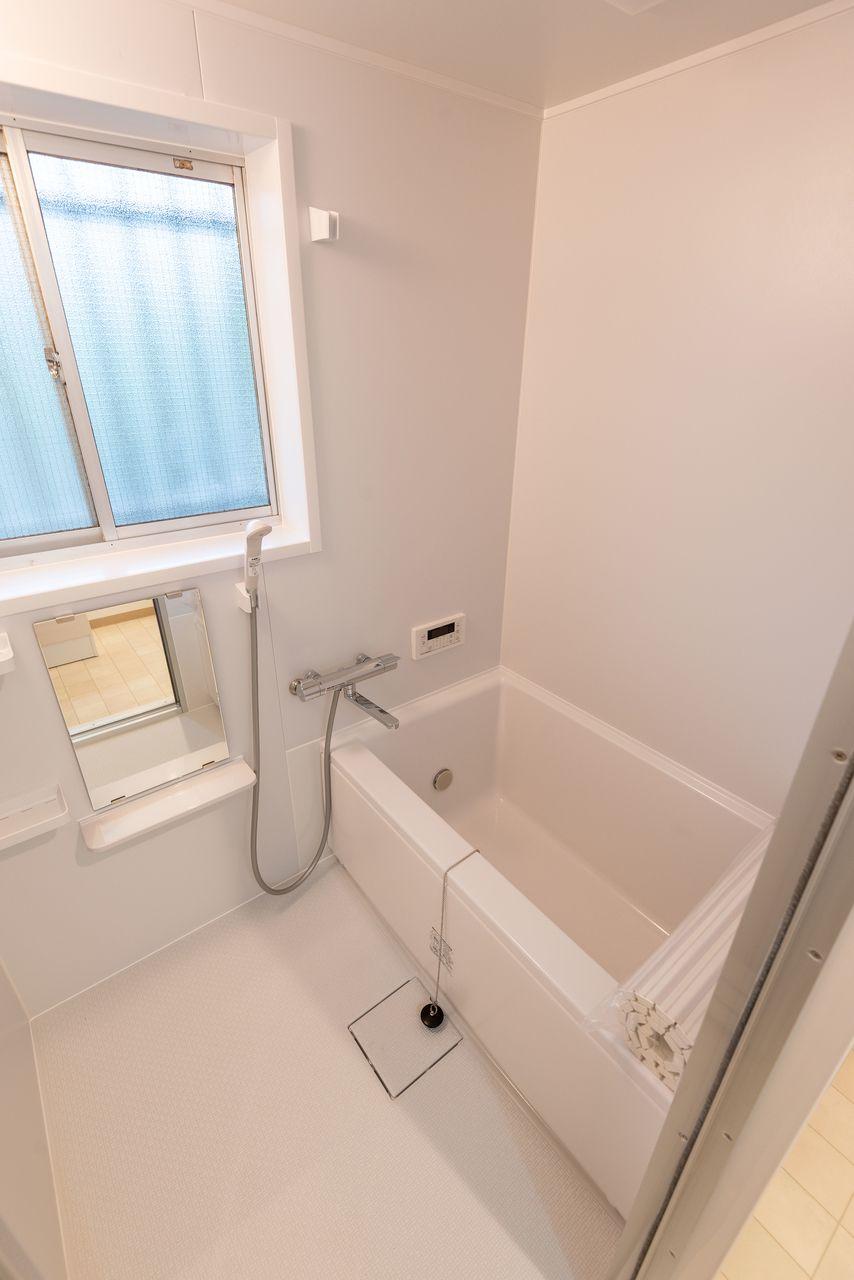 ユニット式の浴室