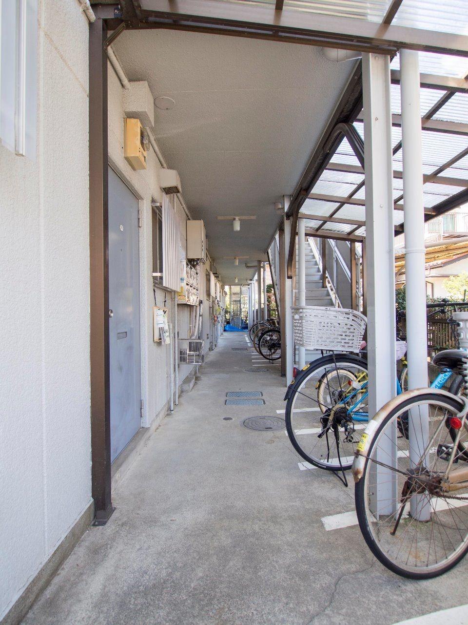 整理整頓された共用部分は入居者のマナーの良さを感じさせます