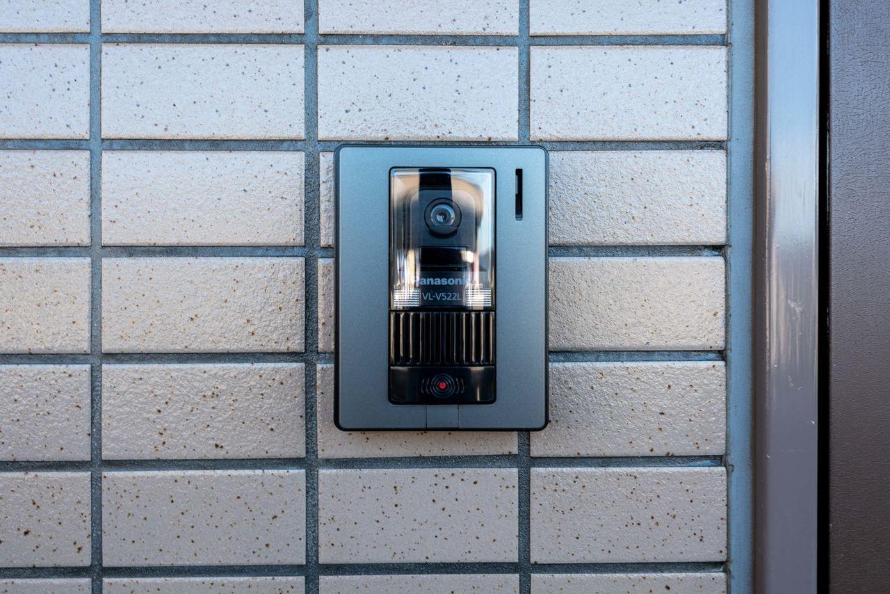 安心のカメラ付き(Panasonic製)