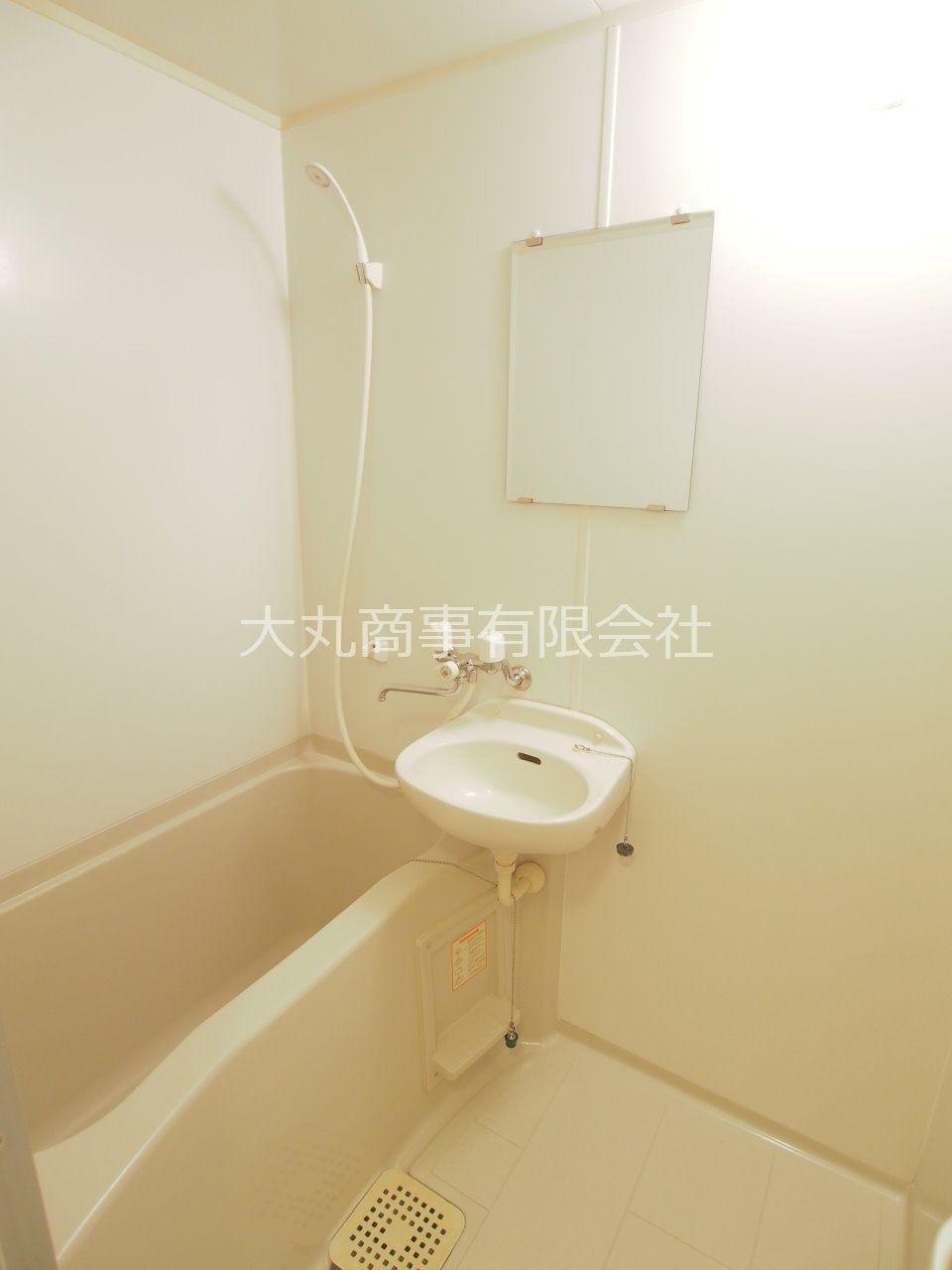 2点ユニットのバスルーム