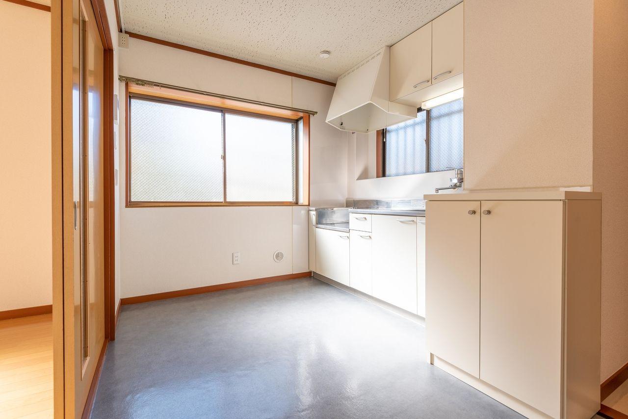 使い勝手のよい広さのキッチン