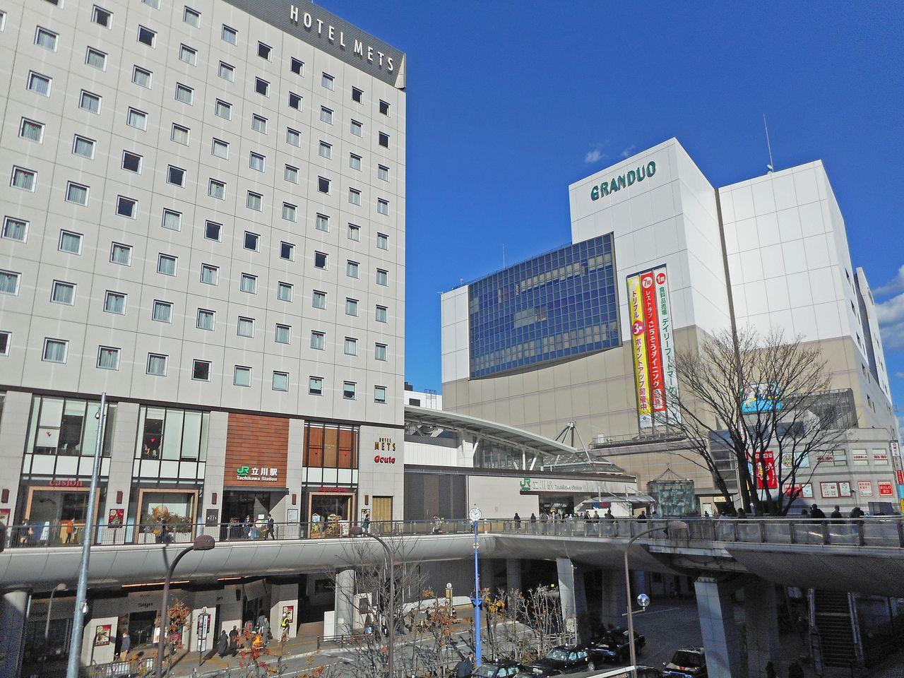 商業施設の充実したターミナル駅