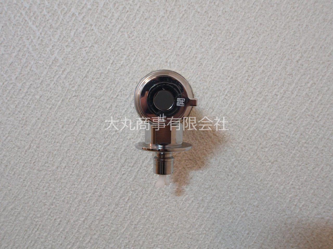 ワンタッチ式の洗濯水栓蛇口