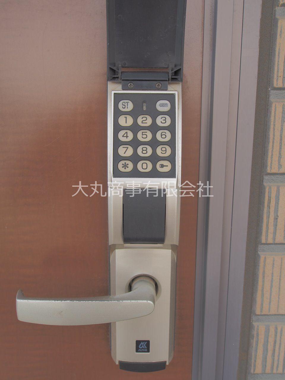 株式会社アルファ社製の暗証番号式玄関錠、EDロック