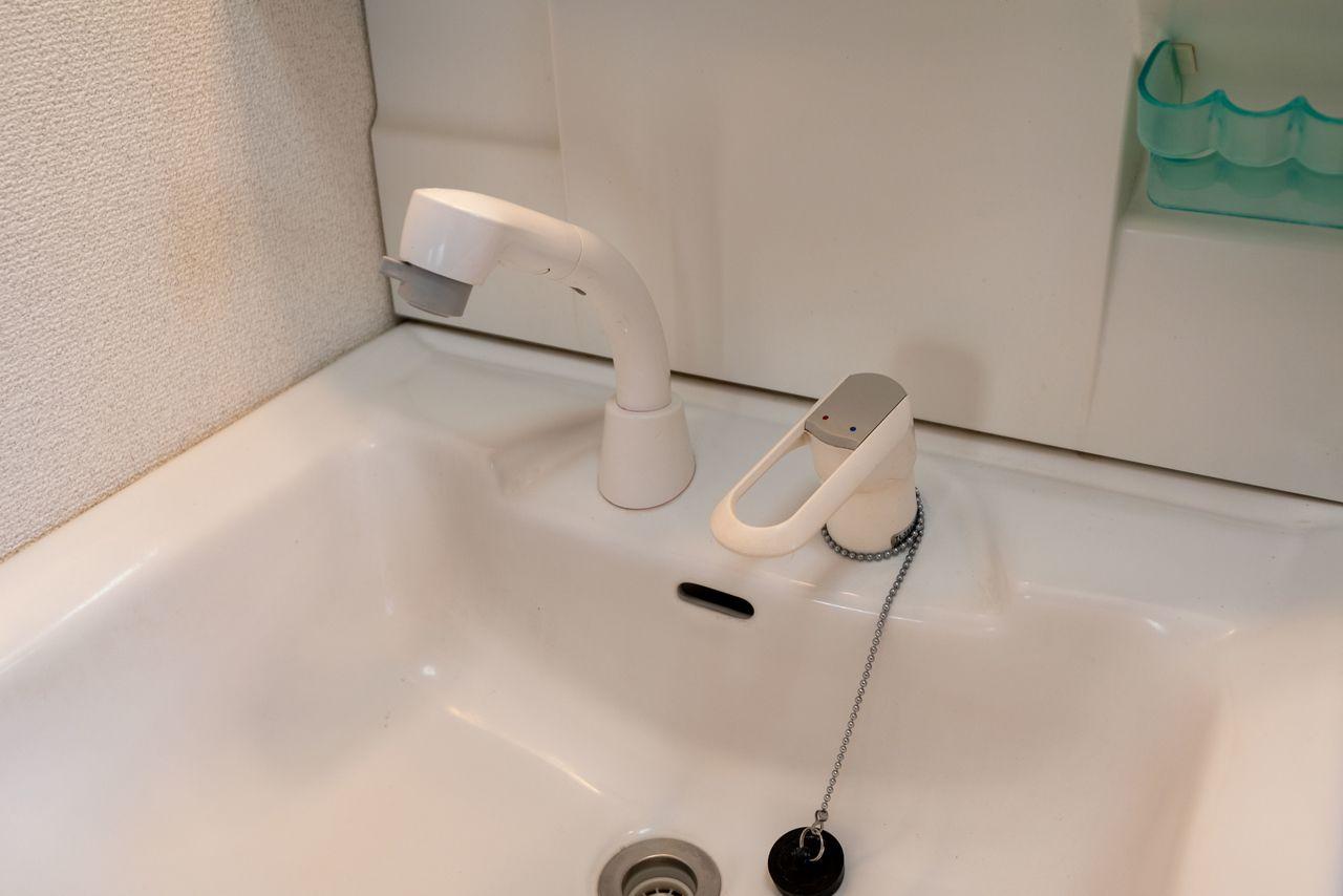 使い勝手の良いシャワー付き