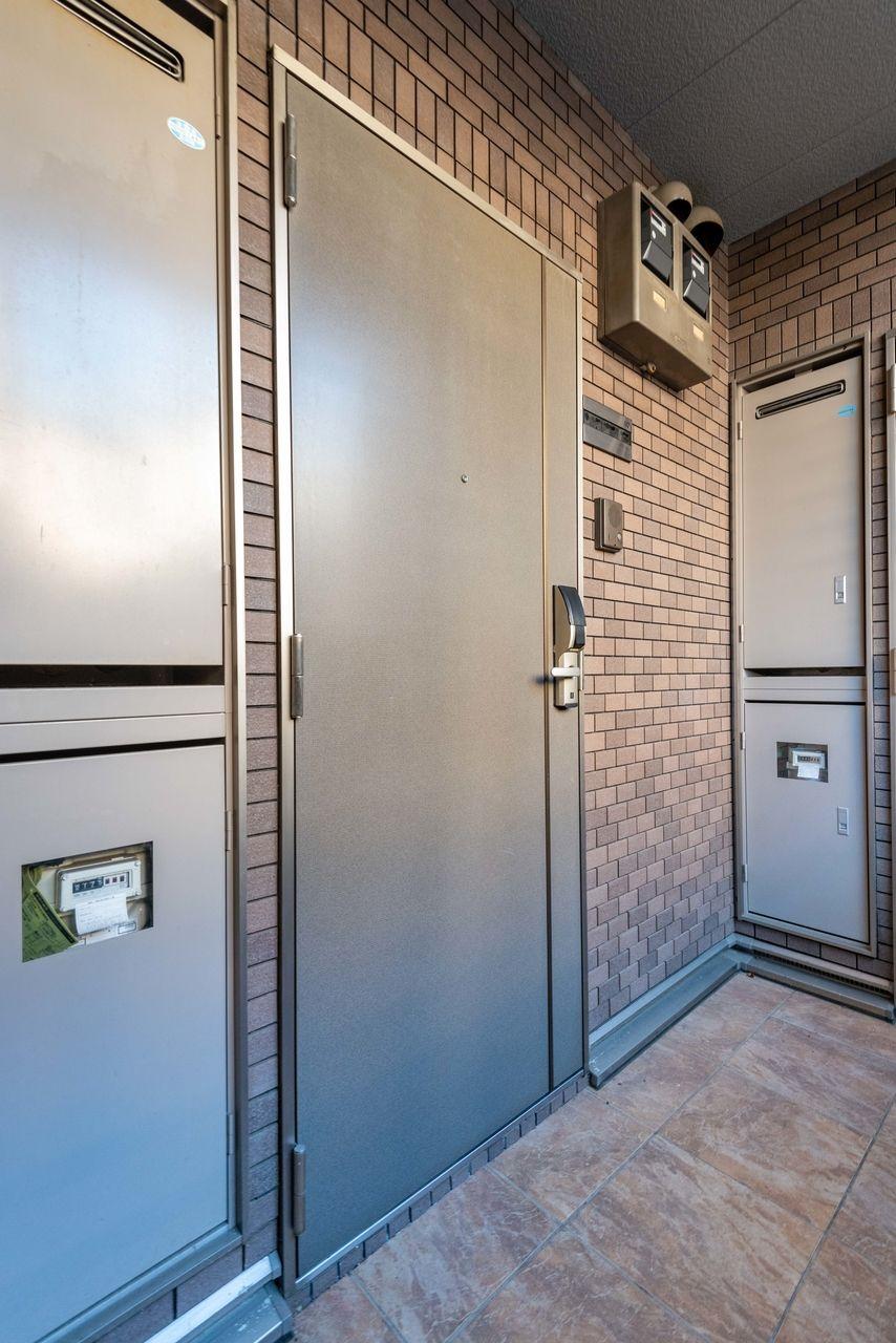 グレード感のある玄関扉