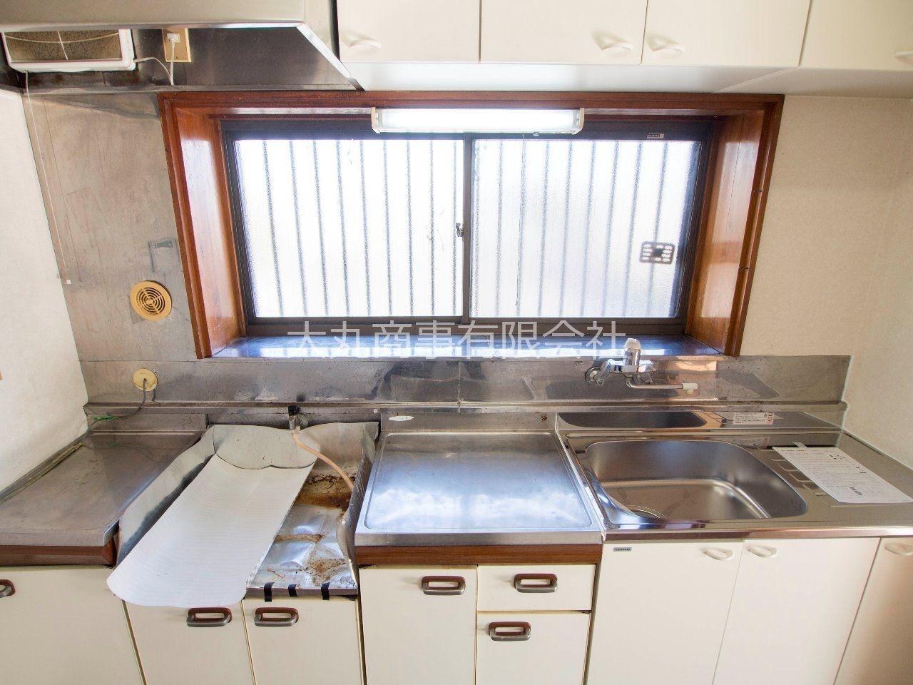 調理スペースも確保されたキッチン