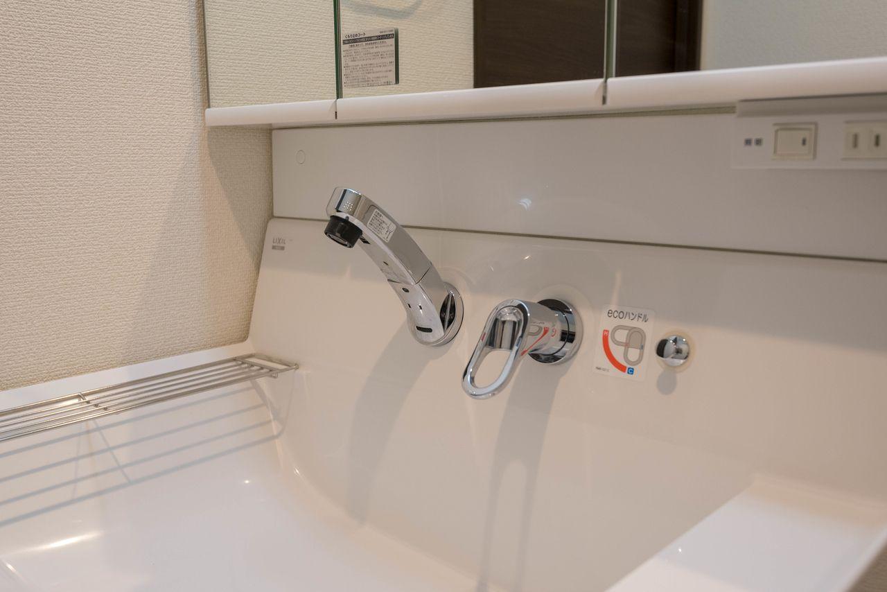 水栓のまわりのお掃除がラクなタイプ