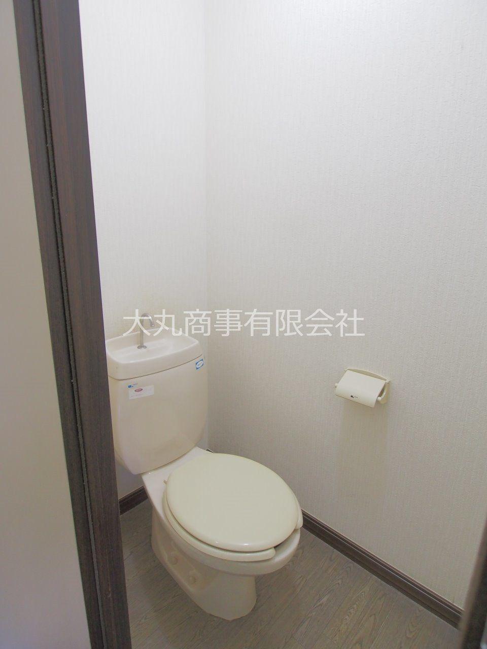 トイレ内にコンセントがあり