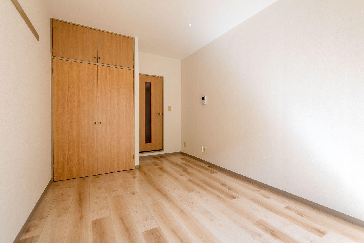 壁面が広く家具が配置しやすい