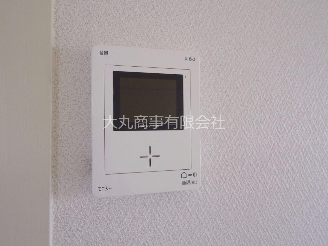 TVモニター付インターホンで来訪者を確認できます