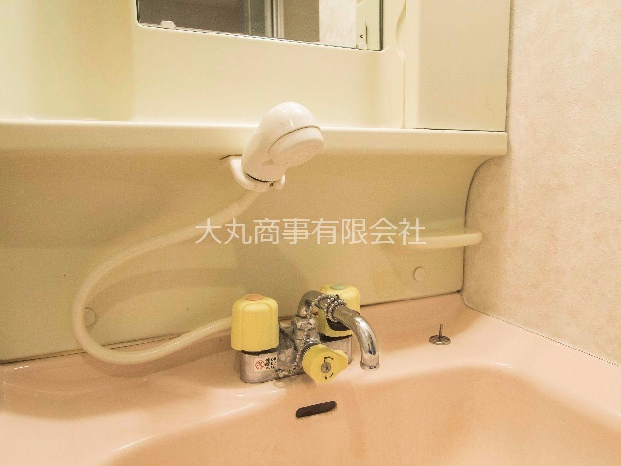 何かと便利なシャワー付洗面水栓