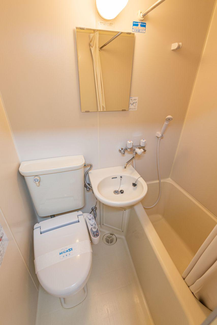 浴室換気乾燥機付のユニットバス
