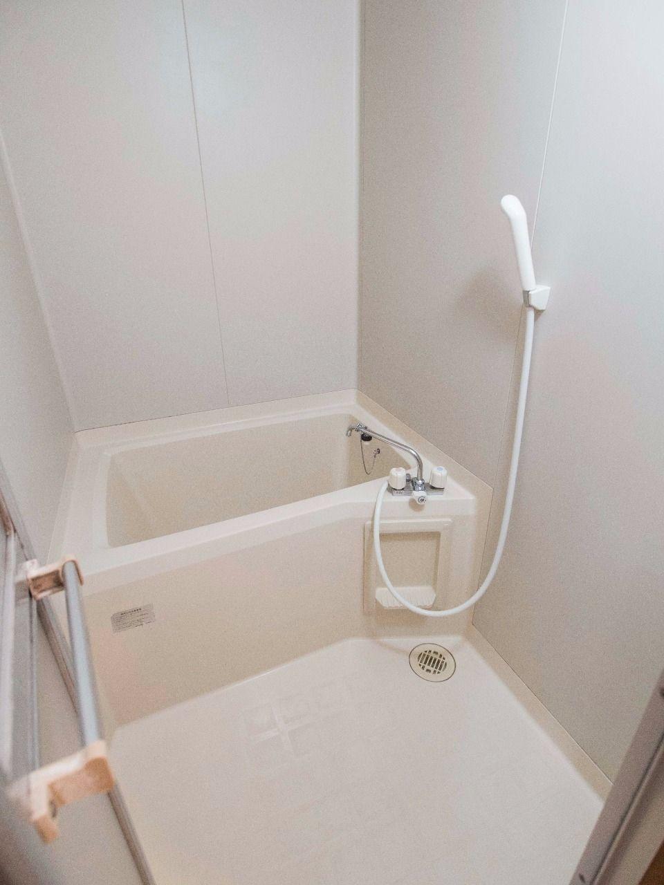 ユニット式バスルームでお掃除もカンタン