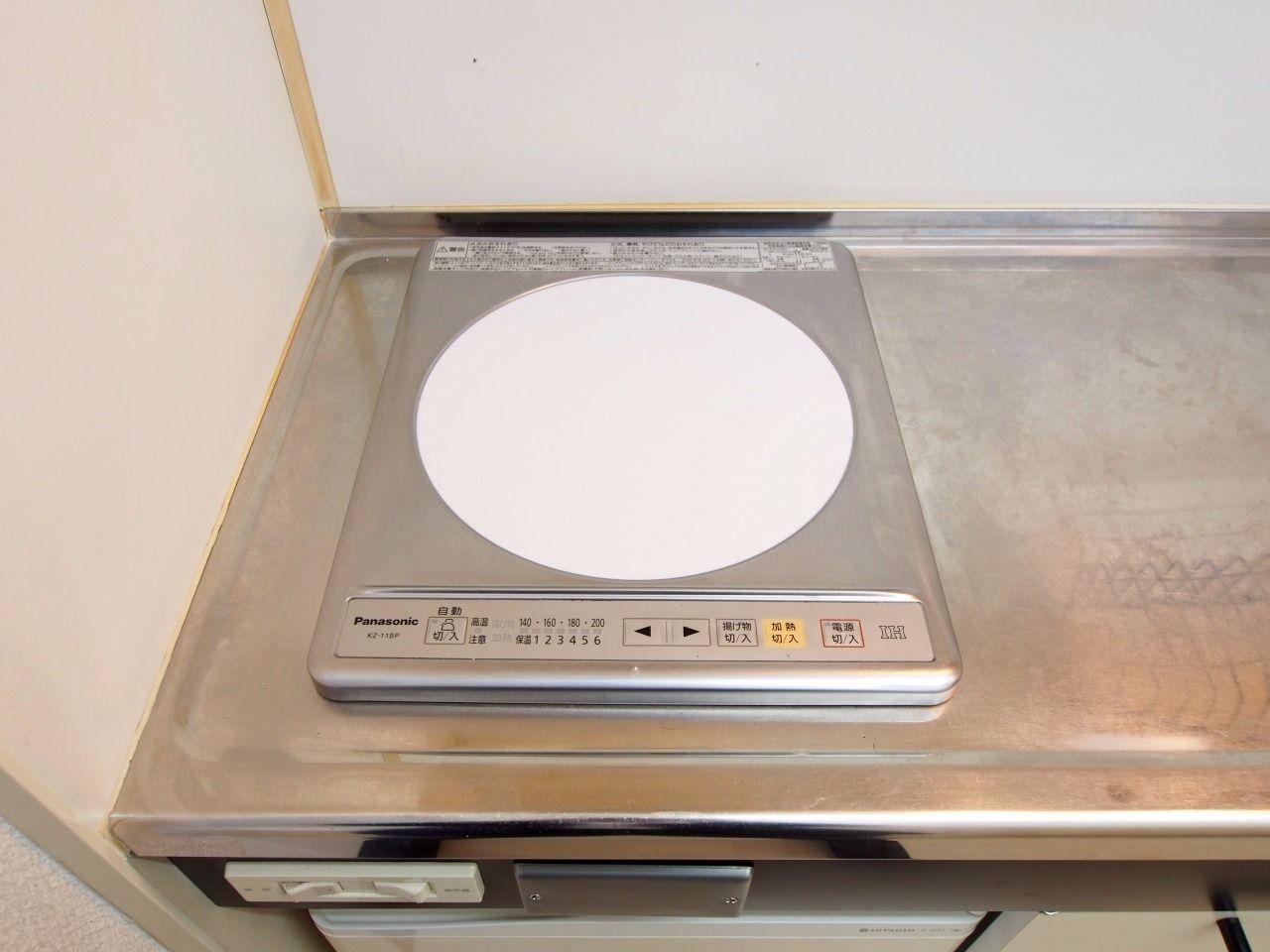簡単な料理なら十分に活用できる「Panasonic」のIHコンロ