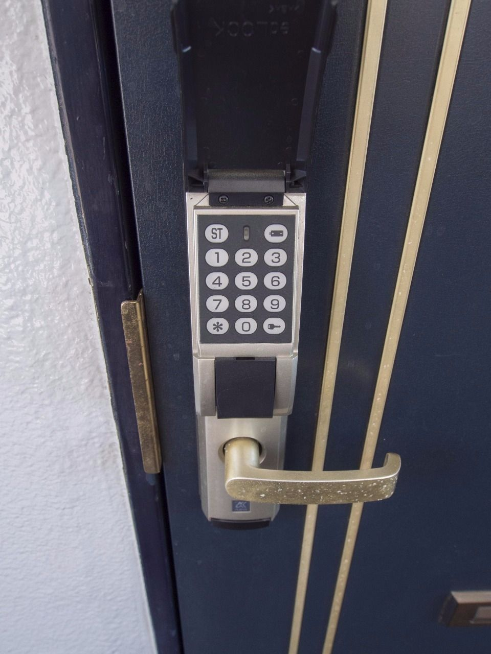 アルファのedロックで任意の番号に設定可能