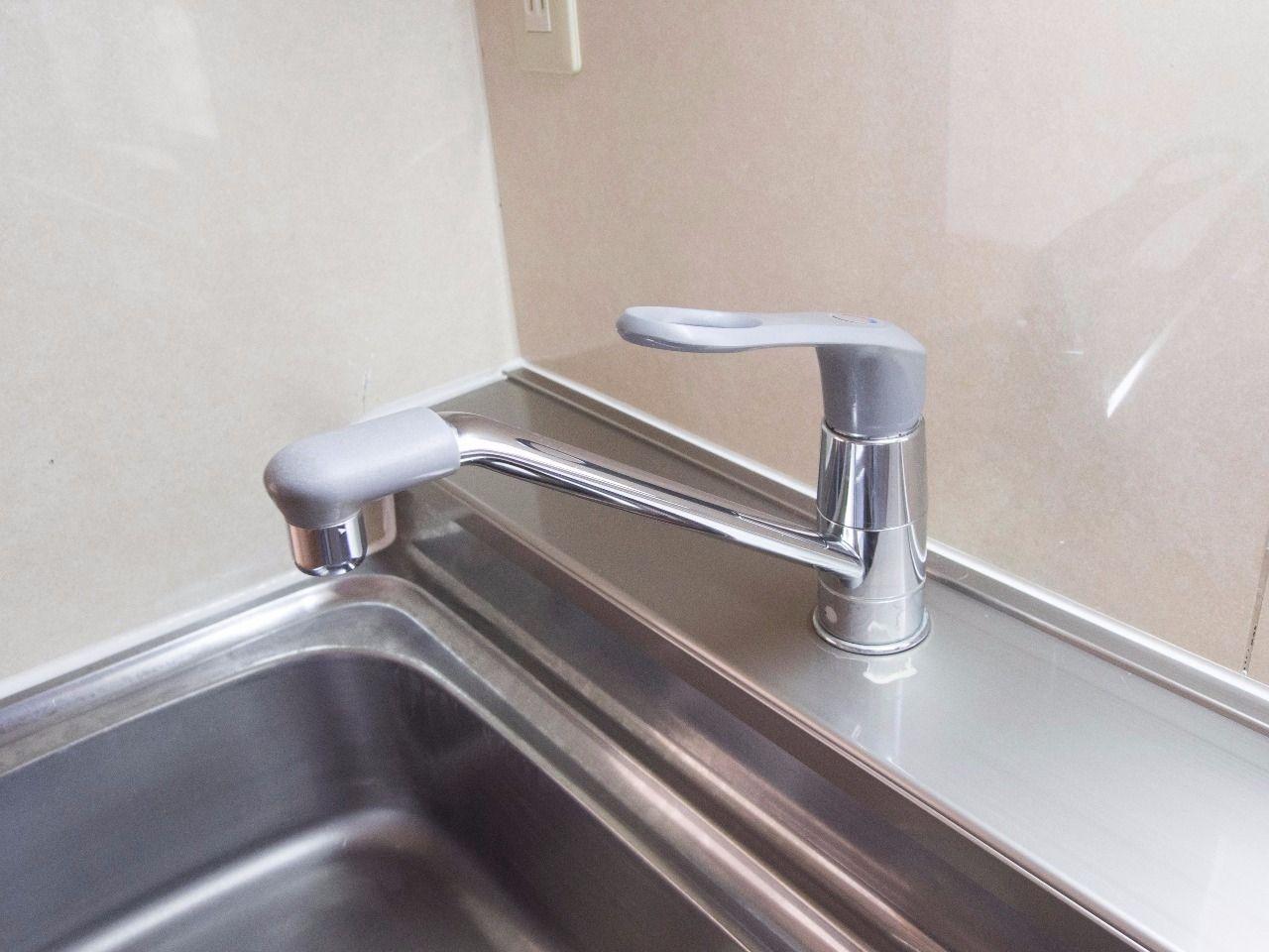 いつでもお好みの温度のお湯が出る使いやすい水栓