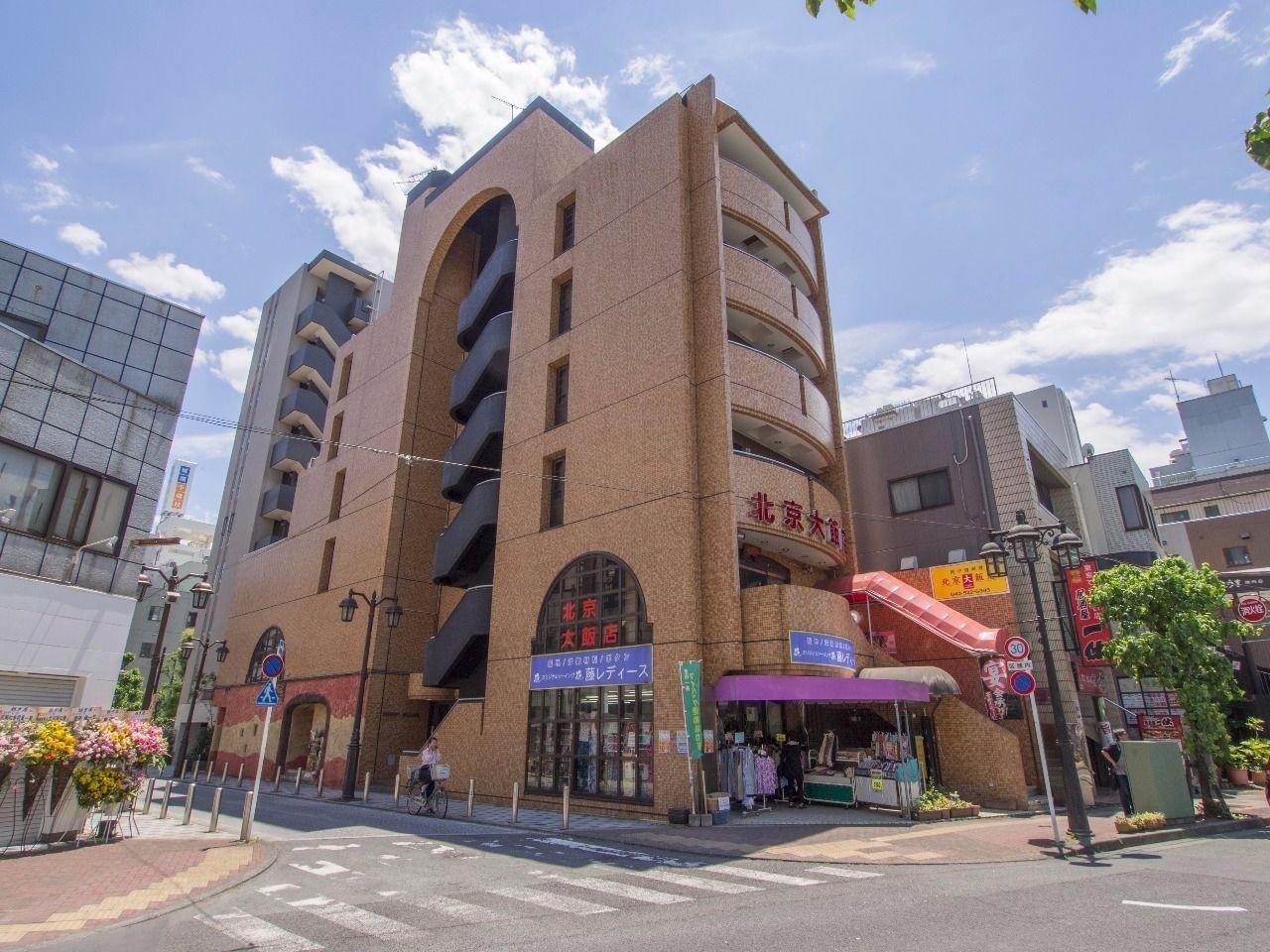 立川駅南口から徒歩4分の利便性の高い立地にあるマンション