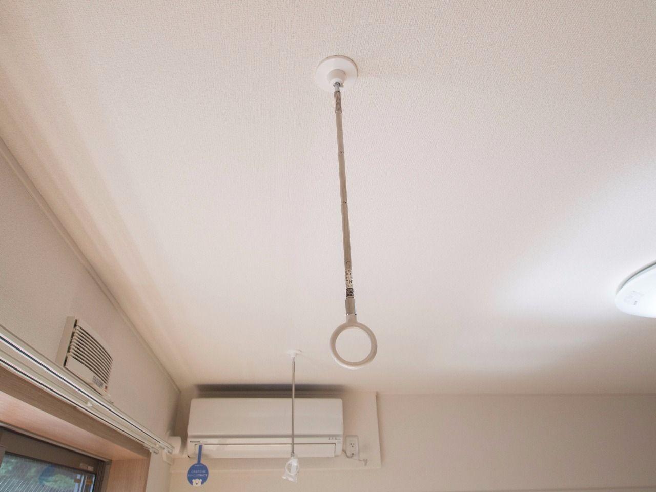 物干竿を通せば室内干しが可能になる川口技研の「ホスクリーン」