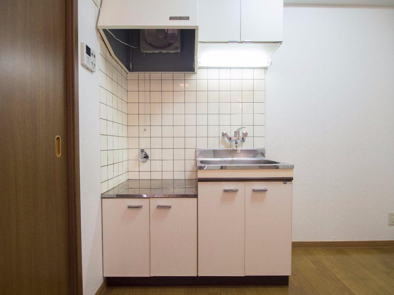 2口ガスコンロ対応キッチン(プロパンガス)