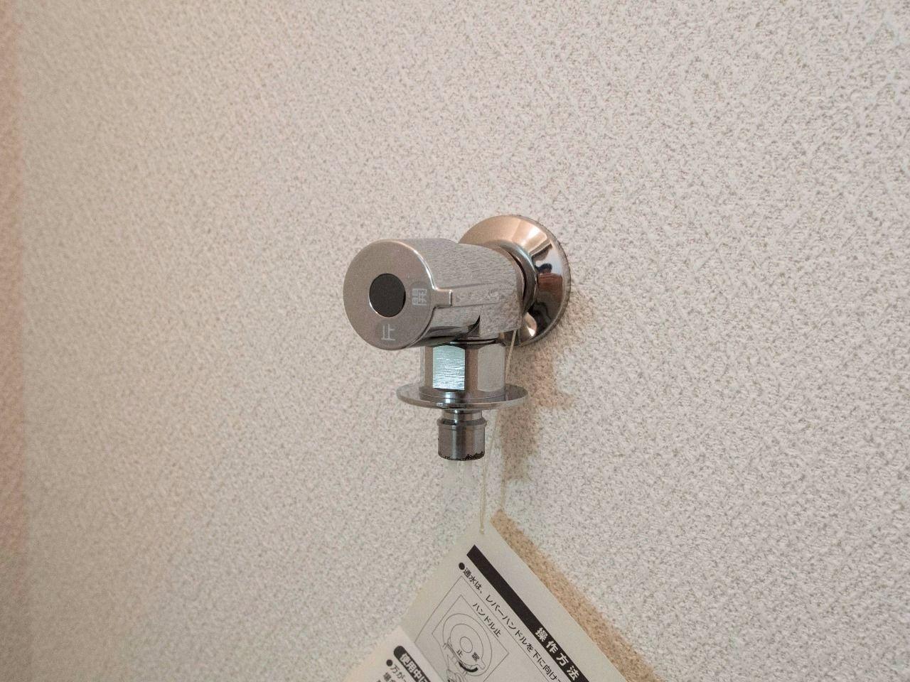 洗濯ホースの取付が簡単で万が一でも水漏れしにくい洗濯水栓