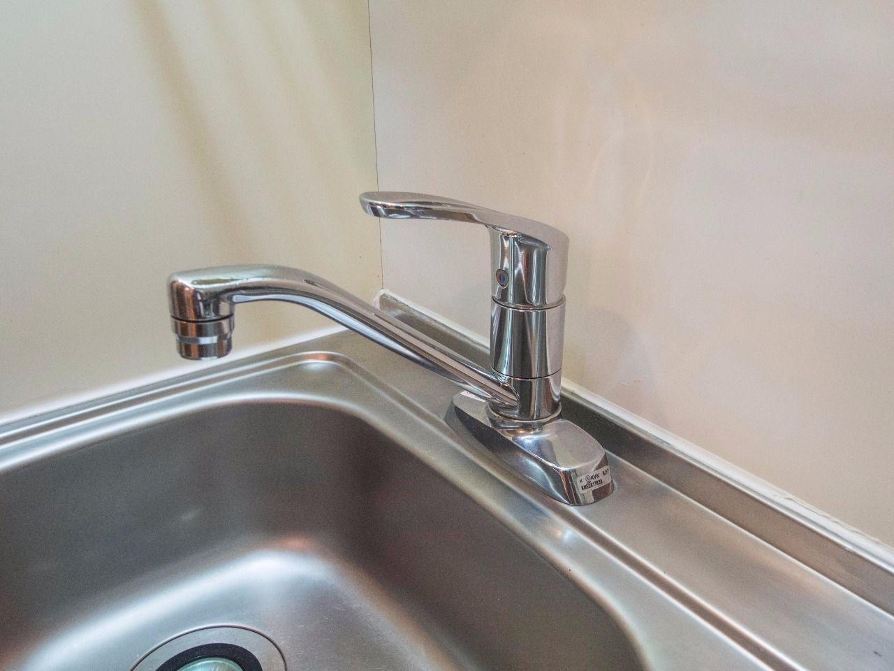 水量や温度調整が簡単なワンレバー式水栓