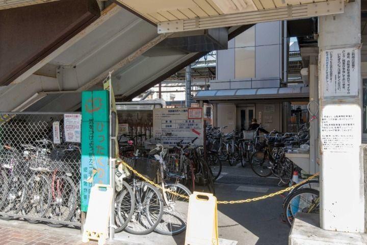 昭島駅南口駅舎下駐輪場