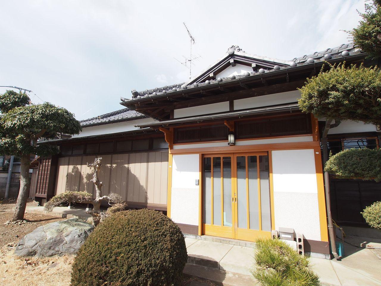 築50年超の平屋建の「柴崎山居」