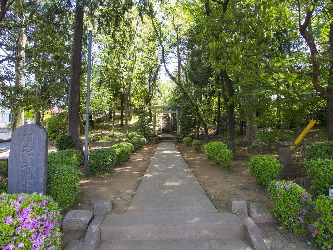 国分寺市西町の村社神明社